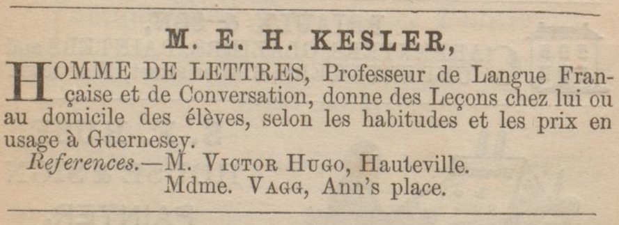 hennett de kesler advert and mechanics institute