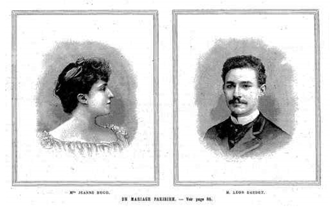 The Hugo-Daudet Marriage