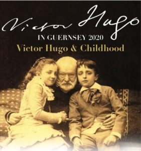 Victor Hugo in Guernsey Weekend advertising flyer 2020